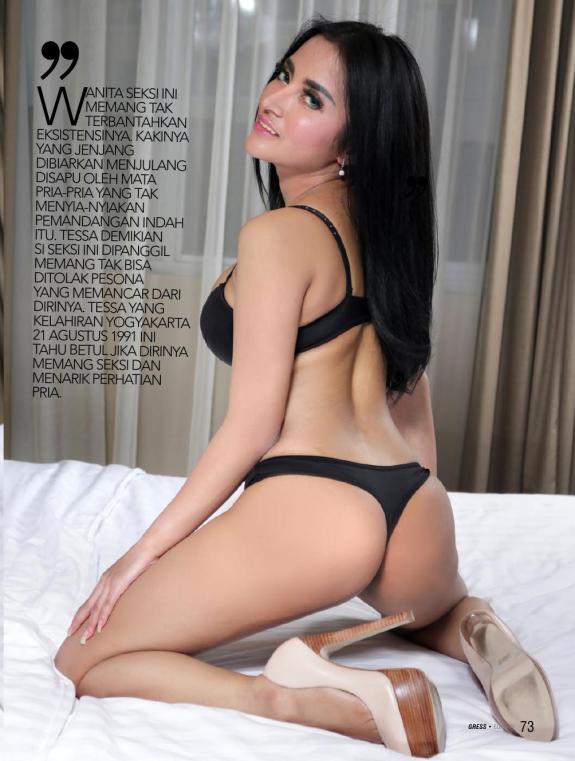 Tessa Ayu, GRESS Magazine January 2017 Part01